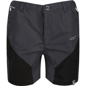 Regatta Sorcer Mountain Shorts Kids, gris/negro
